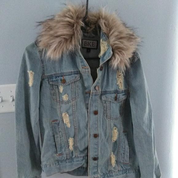 BKE Jackets & Blazers - Jean jacket